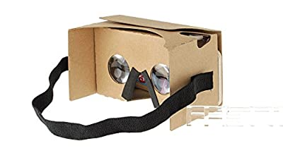 DIY Google Cardboard Virtual Reality VR 3D Glasses