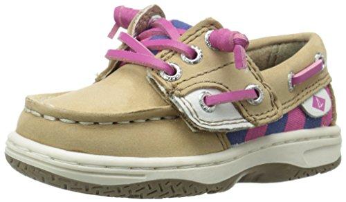 UPC 635841553363, Sperry Ivyfish JR Boat Shoe (Toddler/Little Kid/Big Kid), Linen/Stripe, 9.5 M US Toddler