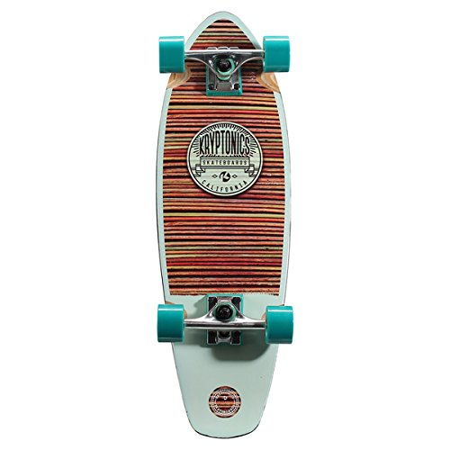 Kryptonics Crusier Board 27-inch x 8.5-inch Complete Skateboard (Palace Skateboards Complete)
