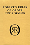 Robert's Rules of Order - Pocket Guide