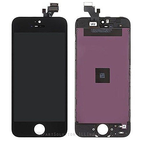 ePartSolution_ LCD Display Touch Screen Digitizer Assembly for iPhone 5C Replacement Part USA Seller
