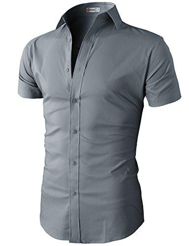 Buy mens rayon polyester dress shirts - 6