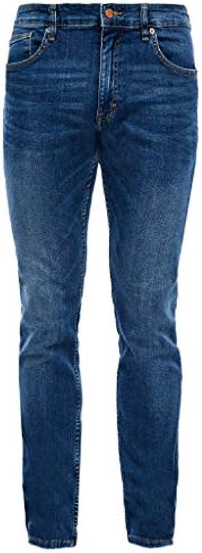 Q/S designed by - s.Oliver Męskie dżinsy Slim Fit: Slim Leg-Jeans: Q/S designed by: Odzież