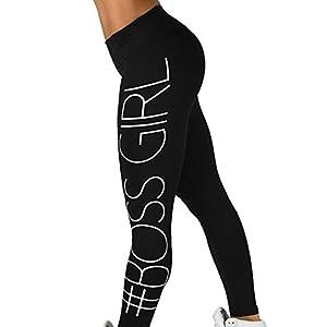 Lookatool Athletic Pants, Women Skinny Fitness Stretchy Yoga Pants Leggings