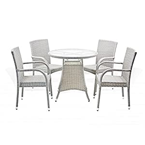 41xxwCx3CjL._SS300_ Wicker Dining Tables & Wicker Patio Dining Sets