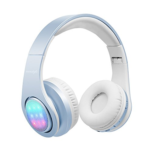Nice BT headphones w/lights on earpices