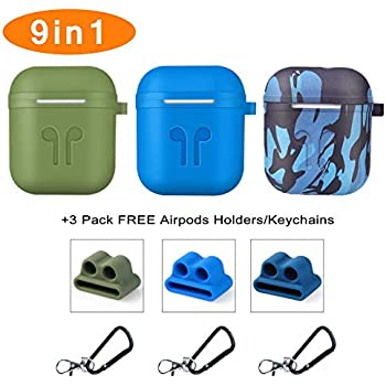 Amazon.com: Airpod Silicone Case, KEOC 3 Pack Protective