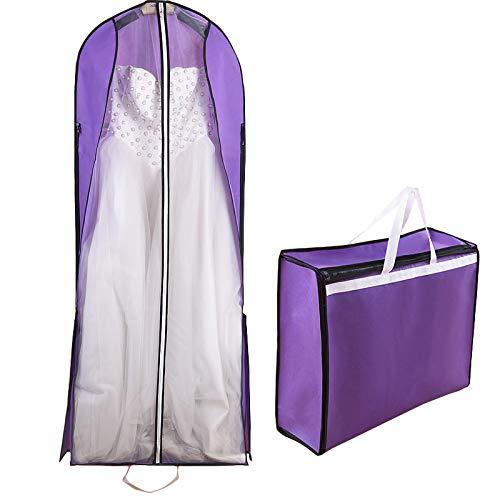 KIJHGTY Doble Uso Largo 150 cm Vestido de Novia Nupcial Robe ...
