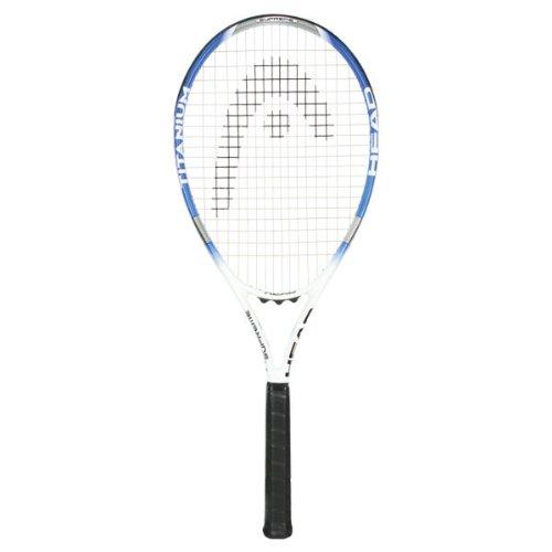 HEAD Ti.S1 Supreme Tennis Racquet , Strung