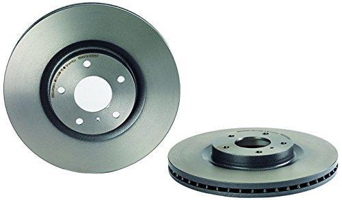 (Brembo 09.B266.11 UV Coated Front Disc Brake Rotor )
