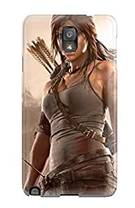 New Tpu Hard Case Premium Galaxy Note 3 Skin Case Cover(tomb Raider 2013)