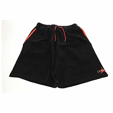541afc0ace9202 ... spain mens nike jordan retro 6 fleece basketball shorts black 589414  010 202e7 d6afa