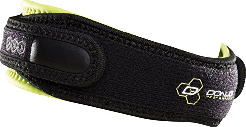 DonJoy Performance ANAFORM PinPoint Knee Strap - Jumper's Knee Band / Patella Tendonitis, Osgood-Schlatters - Support for Volleyball, Basketball, Stairs, Soccer