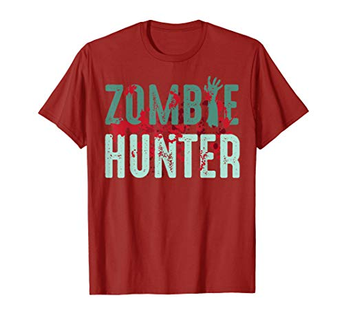 Zombie Hunter Halloween Shirt Cute Deadly Deer Hunting Gift -