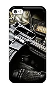 Series Skin Case Cover For Iphone 5/5s(sniper Riffles)
