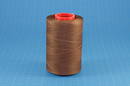 25m of HAVANNA CIGAR RITZA 25 Tiger Wax Thread for Leather Hand Sewing 4 Sizes Available (1.0mm)