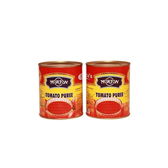 Morton Tomato Puree, 850 g (Pack of 2)