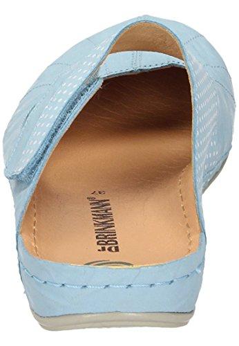 Dr. Brinkmann Womens-pantolette Blu Chiaro 701103-55 Azzurro