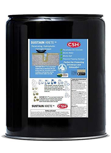 (Sustain Krete Concrete Sealer, 5 Gallon)