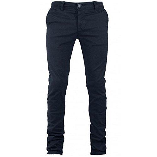 Pantalone Uomo Mod. Tasca America Chino Slim Cotone Elastico Colori Vari GIOSAL-Nero-46