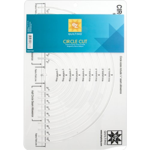 Simplicity Circle Quilting Ruler and Quilting Template, 12