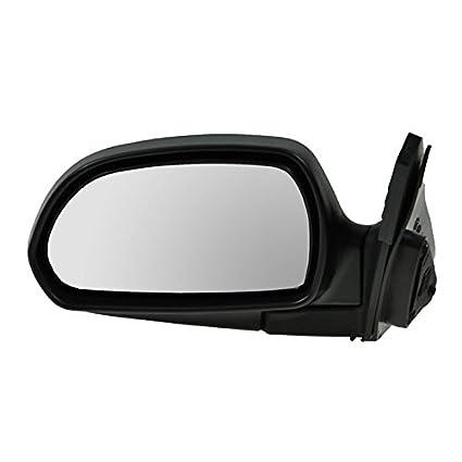 Black Folding Power Side View Door Mirror LH Left Driver Side Fits 01-06 Elantra