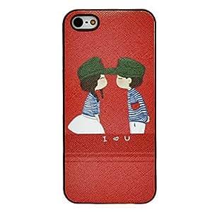 comprar Besos los amantes de caso duro del patrón para el iphone 5/5s
