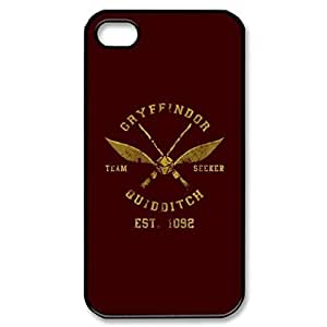 Cartoon harry potter -black Hard Cover Case for iPhone 5 5s case by runtopwell