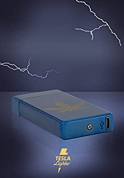 Tesla Lighter T13 | Luz Arco Mechero, Plasma Double de Arc electrónico, recargables, recargable con corriente por USB, sin gas y gasolina, ...