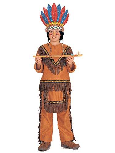 Big Boys' Boy Native American Costume - S