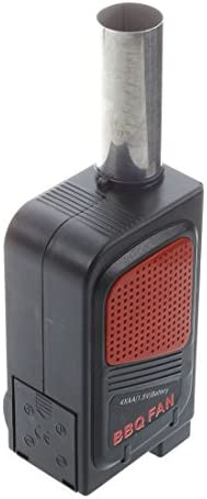 WOVELOT BBQ Ventilateur Soufflet electrique pour Barbecue Ravive Flamme Feu Activateur