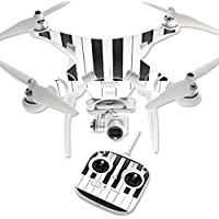 Skin For DJI Phantom 3 Standard – Piano Keys | MightySkins Protective, Durable, and Unique Vinyl Decal wrap cover | Easy To Apply, Remove, and Change Styles | Made in the USA