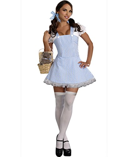[Blue Gingham Dress Costume - Small - Dress Size 2-6] (Gingham Womens Costumes)