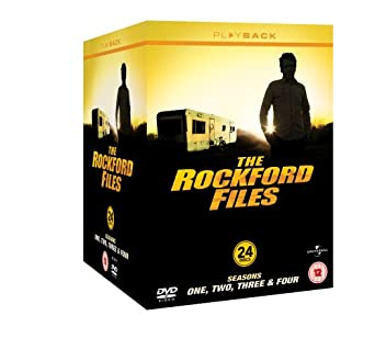 The Rockford Files: Seasons 1-4 [DVD]: Amazon co uk: James Garner