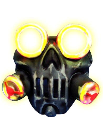 Mad Monster Masks (Rubie's Toxic Light-Up Mask, Multi, One)