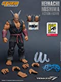 Storm Collectibles Heihachi Mishima [SDCC 2018 Special Edition]: 1/12 Tekken 7 x Action Figure [87073]