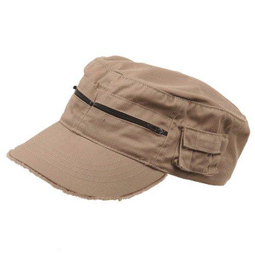 Army Cap Khaki - 8
