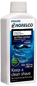 how to use norelco jet clean solution