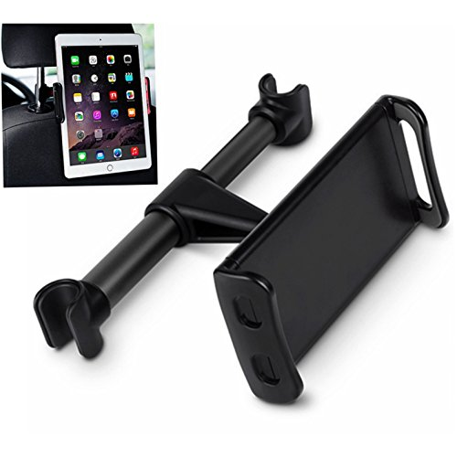 Headrest Tablet / Phone Car Mount,DHYSTAR Car Seat Tablet Holder Rear Pillow Stand for Cell phones/Tablets(4