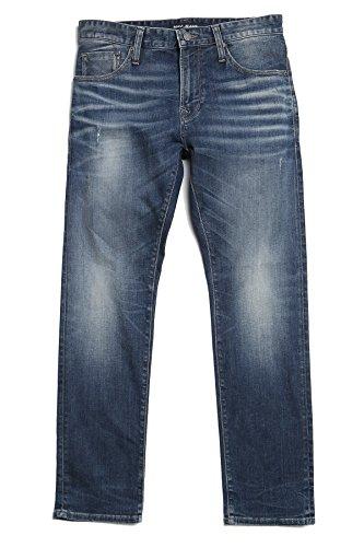 (Mavi Men's Zach Straight Leg Jeans, Brushed Authentic Vintage 40 X 32)