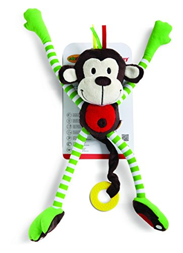 Edushape Happy Monkey Plush -
