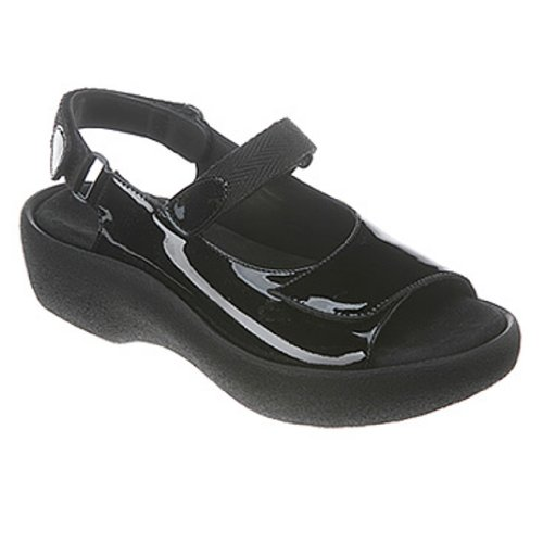 (Wolky Jewel, Black Patent Leather 44 (US Women's 12.5-13) B -)