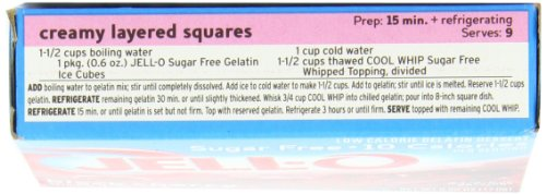 Jell-O Sugar-Free Gelatin Dessert, Black Cherry, 0.6-Ounce Boxes (Pack of 24) by Jell-O (Image #5)