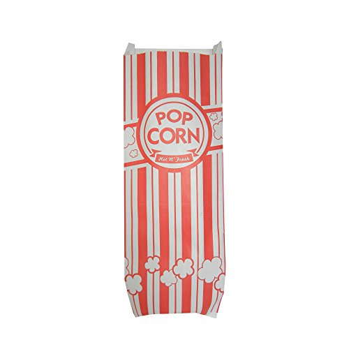 (Carnival King Popcorn Bags 2 oz, 200 Classic Red and White Bags (200 Bags))