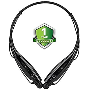 odestro HBS-730 Wireless Bluetooth Headset Sports Bluetooth Headphone Sweatproof & Mic with Magnet Earphone Bluetooth…