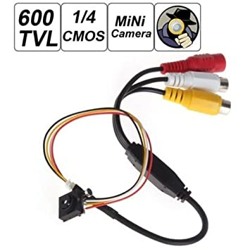 HD Mini CCTV Audio IR FPV 3.6MM Camera Security Micro 600TVL Night Vision 8 LED