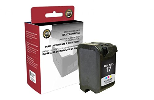 CIG Remanufactured Tri-Color Ink Cartridge for HP C6625AN (HP 17)