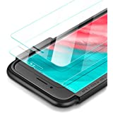 UGREEN 2 Pack Screen Protector Compatible for iPhone 6 6s 7 8 Screen Protective Tempered Glass for 4.7 Inch Screen with Installation Tool, 9H Hardness Support Shockproof, Anti-Scratch,3D Touch