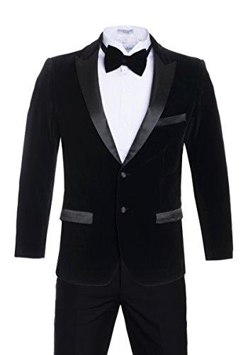 Wear Black Velvet Blazer - 8