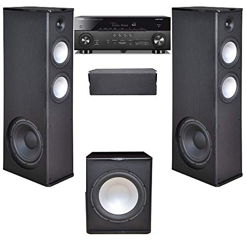 - Premier Acoustic 3.1 Home Theater System with Yamaha RX-A780 Receiver and PA-150 Subwoofer